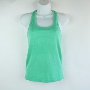 Lululemon Swiftly Tank Top Green SZ 4